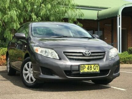 2007 Toyota Corolla ZRE152R Ascent Grey 6 Speed Manual Hatchback