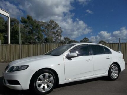 2008 Ford Falcon FG G6 White 5 Speed Automatic Sedan