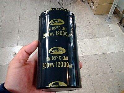 Samwha Electrolytic Capacitor 12000uF, 200V