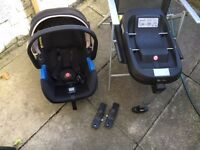 Silver cross simplicity car seat, isofix base