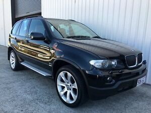 2005 BMW X5 E53 MY05 d Steptronic Black 6 Speed Sports Automatic Wagon Parkwood Gold Coast City Preview