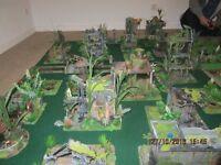 ruined wargaming city. warhammer.40k,scenery,terrain,warhammer,flames of war,gaming,table top