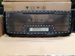BRAND NEW 2007, 2008, 2009 & 2010 GMC BLACK MESH LED GRILL WITH FULL SHELL! - NO CUTTING REQ!