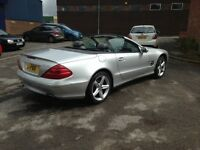 WOW! MERCEDES 500SL - 5.0 V8 AUTO - CONVERTIBLE - AMAZING! PRIVATE PLATE INCLUDED