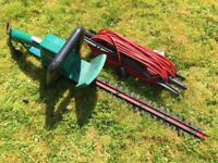 """Fully working and well maintained hedge trimmer - 18"""" blade. Powerful but not too heavy."""