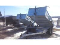 2016 GALVANIZED DUMP TRAILERS     BEST PRICES AND SERVICE