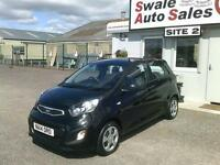 2014 KIA PICANTO 1 1L ONLY 16,679 MILES, FREE TAX, 1 OWNER, FULL HISTORY
