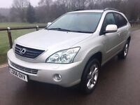 2006 Lexus RX400 H SE Hybrid electric 4x4 very cheap to run