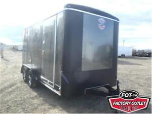 *2017* 7 x 14 Cargo Trailer - 7,000# GVWR *OUT THE DOOR PRICES*