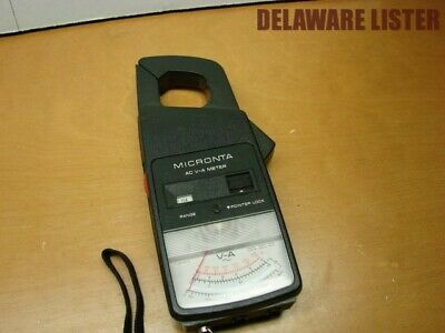Portable Mobile Micronta Ac V-a Clamp Meter 22-161