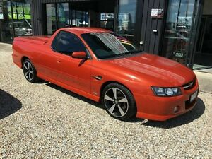 2006 Holden Ute VZ Thunder Orange 6 Speed Manual Utility Biggera Waters Gold Coast City Preview