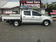 2015 Toyota Hilux KUN16R MY14 SR Double Cab 4x2 Silver 5 Speed Manual Utility Winnellie Darwin City Preview