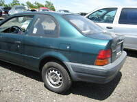 1997 TOYOTA TERCEL PARTS AVAILABLE