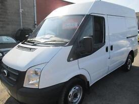 FORD TRANSIT 100 T260 FWD SEMI-HI MWB (white) 2012