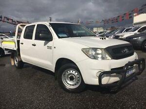 2010 Toyota Hilux KUN16R 09 Upgrade SR Glacier White 5 Speed Manual Dual Cab Pick-up Maddington Gosnells Area Preview