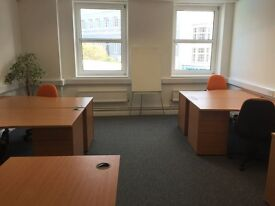 Very Smart central Brighton offices 5 person and 9 person ( two rooms)