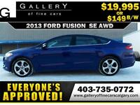 2013 Ford Fusion SE $149 bi-weekly APPLY TODAY DRIVE TODAY