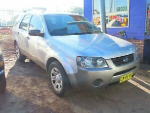 2006 Ford Territory SY TX Silver 4 Speed Sports Automatic Wagon Mount Druitt Blacktown Area Preview