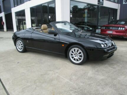 2002 Alfa Romeo Spyder T Spark Black 5 Speed Manual Convertible