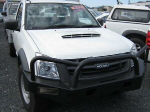 2011 Isuzu D-MAX MY 11 EX White Cab Chassis Single cab West Ballina Ballina Area Preview