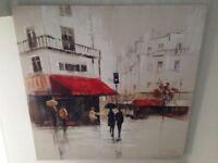 Vintage paris scene