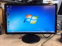 "Dell S2309WB 23"" HD Widescreen LED LCD Monitor Full HD 1920x1080 DVI & VGA Monitor"