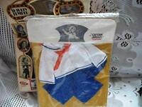 1974 IDEAL SHIRLEY TEMPLE ORIGINAL CAPTAIN JANUARY OUTFIT,NIB