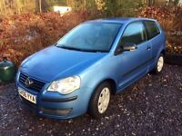 VW Volkswagon POLO 1.2 Blue 3dr (2006)