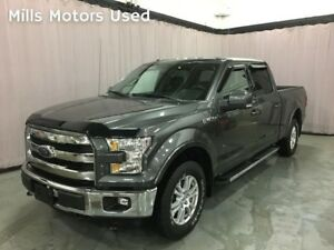 2015 Ford F-150 SUPERCREW 5.0 Coyote V8 4WD Bluetooth Nav Backup