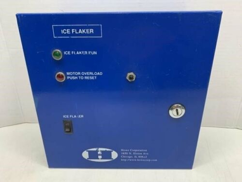 Howe Corp E20T40-RL Remote Ice Flaker Control Panel Electronic Rapid Freeze Ice