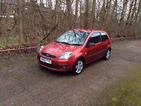 2007 Ford Fiesta Zetec cilmate red 1.2 full 12 month mot Expiers 7/2/2018