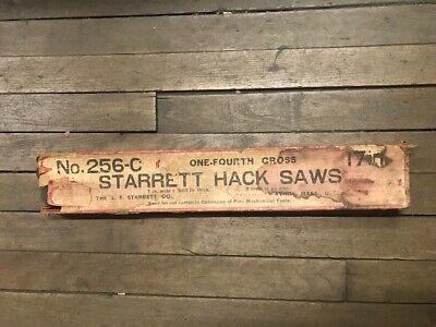 Starrett 256-c Hack Saws  In Stock Vintage