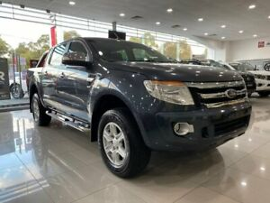 2011 Ford Ranger PX XLT Double Cab Grey 6 Speed Sports Automatic Utility Ringwood Maroondah Area Preview