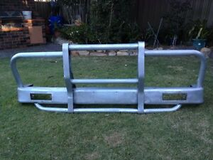 Nissan Patrol GQ factory alloy Bullbar bumper no dents North Ryde Ryde Area Preview