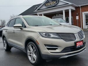 2015 Lincoln MKC AWD Tech Pkg, Pano Roof, NAV, Heated/Cooled Sea