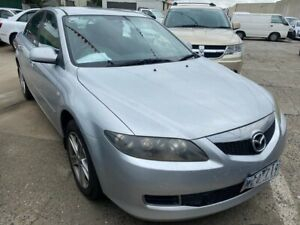 2007 Mazda 6 GG 05 Upgrade Classic Silver 5 Speed Auto Activematic Sedan Hoppers Crossing Wyndham Area Preview