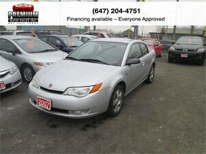 2007 Saturn Ion FLAWLESS! LOW KM!