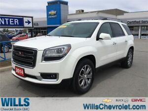2014 GMC Acadia SLT2 | 8 PASSENGER | ONE OWNER