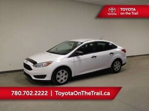 2015 Ford Focus S; AUTOMATIC, A/C, BACK UP CAMERA