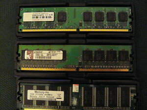 RAM Memory DDR and DDR2