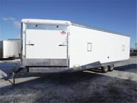 **MUST SEE** 8.5 X 28 ft Enclosed Snowmobile Trailer **LOADED**