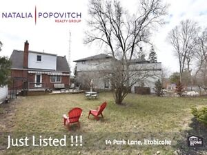 FOR SALE - DETACHED HOUSE in ETOBICOKE - Investors/Homebuyers
