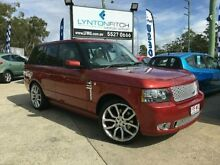 2007 Land Rover Range Rover Vogue L322 08MY TDV8 Rimini Red 6 SPEED Semi Auto Wagon Southport Gold Coast City Preview