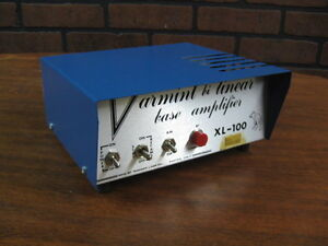 NEW-Vintage-Varmint-Bi-Linear-Base-Ham-Radio-Amplifier-XL-100