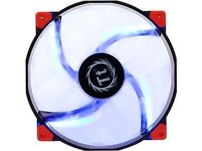 Thermaltake CL-F024-PL20BU-A 200mm Luna 20 Series BLUE LED High Airflow Case Fan (Thermaltake Luna 20)