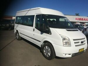 2013 Ford Transit VM MY13 Mid Roof White 6 Speed Manual Bus South Grafton Clarence Valley Preview