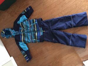 MONSTER 2-piece ski/snow suit -- like new!