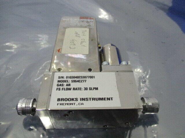 Brooks 5964, Mass Flow Controller, 5964CZ77, AR 30 SLPM, 421688