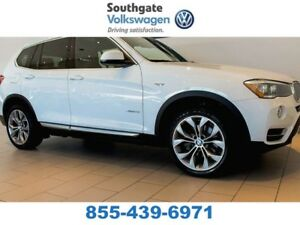 2016 BMW X3 LEATHER | BACK UP CAMERA | SUNROOF | HEATED SEATS