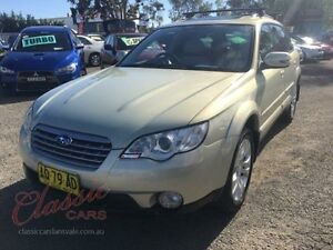 2007 Subaru Outback MY07 3.0R Premium Champagne 5 Speed Auto Sports Shift Wagon Lansvale Liverpool Area Preview